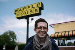 michaelkuhle:  Matt at the Waffle House