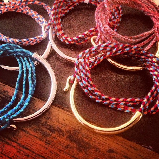 Hooked on the #nla hook #friendship bracelets