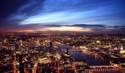 View from the top of The Shard 01 by Bill-Green on Flickr.