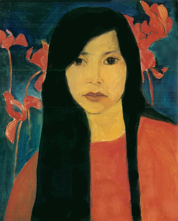 nabiloou:  Loi Hong Diep (via In Red Painting by Hong Diep Loi - In Red Fine Art Prints and Posters for Sale)