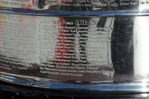 the engraving on Stanley for LA