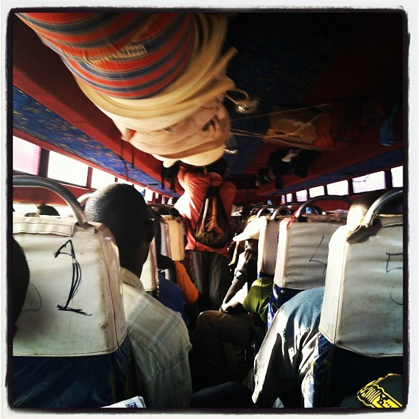 #bus to Gulu