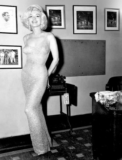"Fifty one years ago today on May 19th 1962 Marilyn sang ""Happy Birthday/Thanks for the memories at Madison Square Gardens for President Kennedy's 45th Birthday Gala. Oh and just for the purpose of ignorant people Marilyn went home at half eleven with her ex father in law, Isidore Miller."