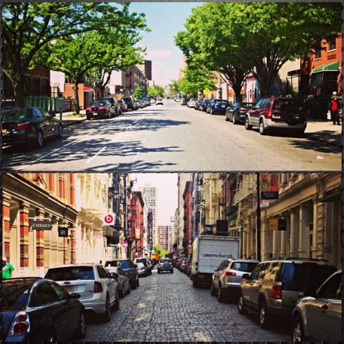 My 2 worlds: Bed-Stuy, Brooklyn & SoHo, New York