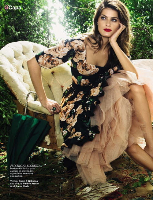Glamour Brazil, April 2013 photographer: Henrique Gendre Isabeli Fontana // heather-in-heels:fashion-and-seek
