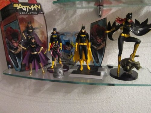 My little Batgirl figure collection <3