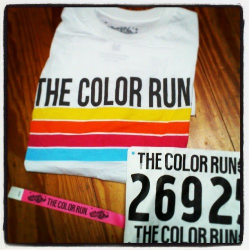 I'm ready for the happiest 5k on the planet! #TheColorRun.
