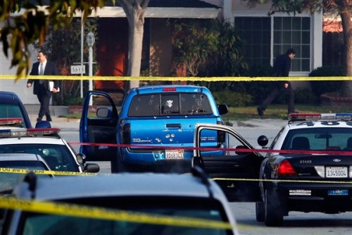 Women shot by cops in Calif. were just delivering papers (Photo: Reuters / Patrick T. Fallon) They were in the wrong car at the wrong time. Two women who were delivering newspapers in Torrance, Calif., early Thursday were shot by jittery Los Angeles police officers who mistakenly thought cop-hunting fugitive Christopher Dorner might be in their vehicle, NBCLosAngeles.com reported. Read the complete story.