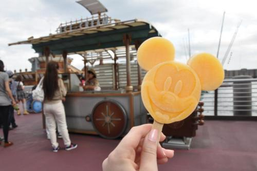 yummy mickey ice pop at disneysea
