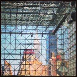 Cool view from the Javits Center