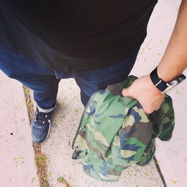 #wiwt may or may not rain. def am comfy. #freerun3 #carhartt #camo
