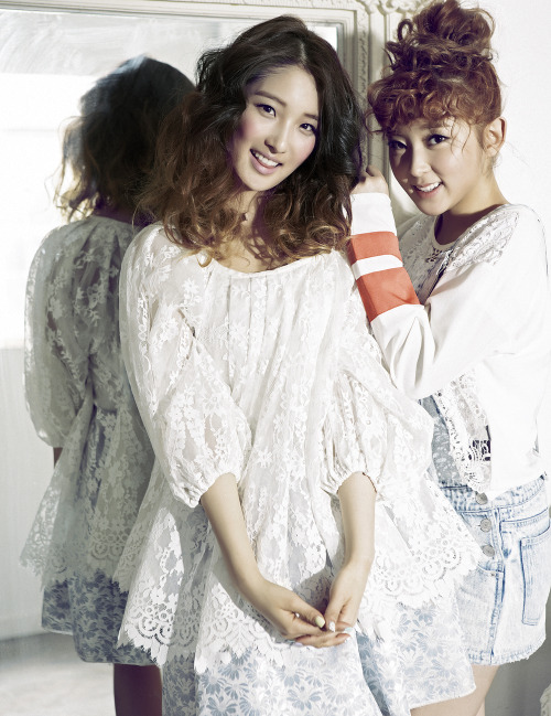 kpophqpictures:  [MAGAZINE] 4Minute – CéCi Magazine June Issue '13