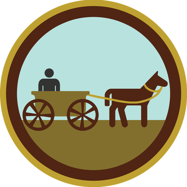 wearethe-kings:  lifescouts:  Lifescouts: Horse-Drawn Cart Badge If you have this badge, reblog it and share your story! Look through the notes to read other people's stories. Click here to buy this badge physically (ships worldwide). Lifescouts is a badge-collecting community of people who share real-world experiences online.  this was actually another one of my adventures in australia, last summer. i remember my 5 year old little sister absolutely awestruck by the gorgeous white horse attached to the cart, and by the cute little fairy lights strung around the cart it self. i also remember being amazed by how the man just drove the cart we were in right into traffic. i remember waving at the pedestrians on either side of the streets, how the horse stank so much i  had to cover my nose with the sleeve of my sweater, and looking up to see how nice the starry sky was in australia, compared to the smoky, pitch black skies we get in jakarta. i remember how friendly and chatty the man driving our cart was, and how my dad had awkwardly tried to reply with his asian accent and limited vocabulary. it was great.