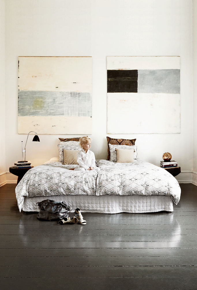 myidealhome:  king size bed (via How The Fashion Designer Lives / 79 Ideas)
