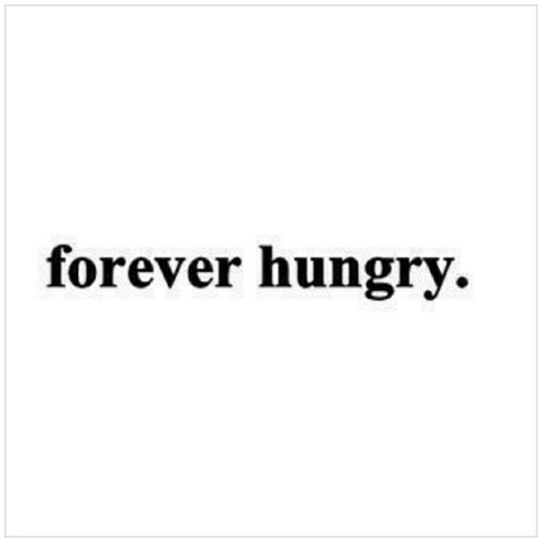 istalkfashion:  Describing my self in two words. Haha #hungry #food