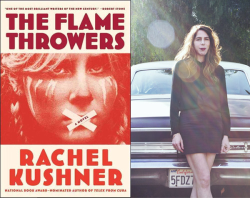 weareconstance:   Los Angeles-based novelist Rachel Kushner's new book, The Flamethrowers, follows a young protagonist from land speed trials in the Utah salt flats to the downtown art world of 1970s New York to the milieu of massive upheaval in Italy in 1977. Her exhilarating novel has been roundly praised by the likes of the New Yorker, and she will present it on Thursday, May 9, at a Happy Hour Salon from 6 – 9 p.m. at the Press Street HQ (3718 St. Claude Ave.) along with local novelists Nathaniel Rich and Zachary Lazar. See more information about the event here and read the Room 220 interview with Kushner here.