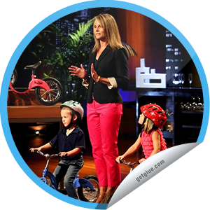 I just unlocked the Shark Tank Season 4 Episode 25 sticker on GetGlue                      2092 others have also unlocked the Shark Tank Season 4 Episode 25 sticker on GetGlue.com                  Are the sharks along for the ride for this idea on how to teach kids how to ride bikes? Thanks for watching! Keep tuning in to Shark Tank on Fridays at 9/8c. Share this one proudly. It's from our friends at ABC.