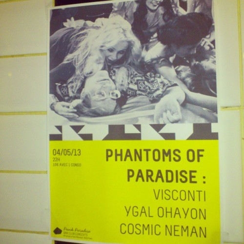 Phantoms of Paradise samedi 04/05/13 at Punk Paradise #impatience