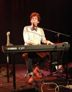 Julian Velard performs live in Pittsburg, PA in 2012. Photo by Stephanie Wolf