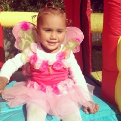 - #FairyPrincess #BirthdayGirl on her #partyDay today!! #GodDaughter #family #MissHome especially on days like today! #Love my niecey :) #Hope your having #fun #babygirl!! x