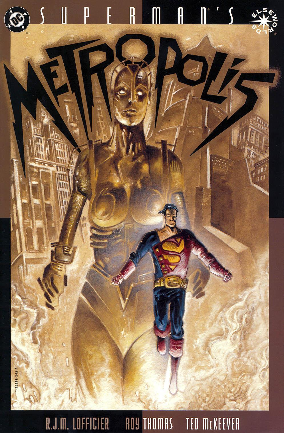 I think this is my favorite Superman - Elseworlds story. I love the story and the art. Superman: War of the Worlds is a close second though.