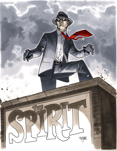 The Spirit - Comic Action Essen 2012 Pre-Show Commission