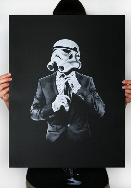Smart Trooper - by EngramClothing Print available at Etsy