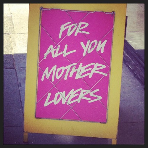 #mother #lover  (at Lush - Union Street)