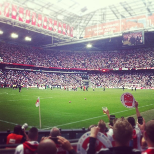We are the champions! #ajax #32