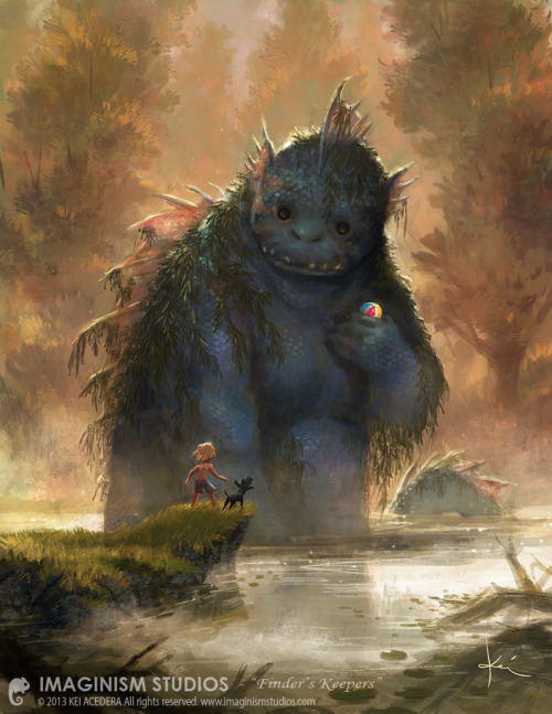 monsterman:  Finders Keepers by `Kei Acedera