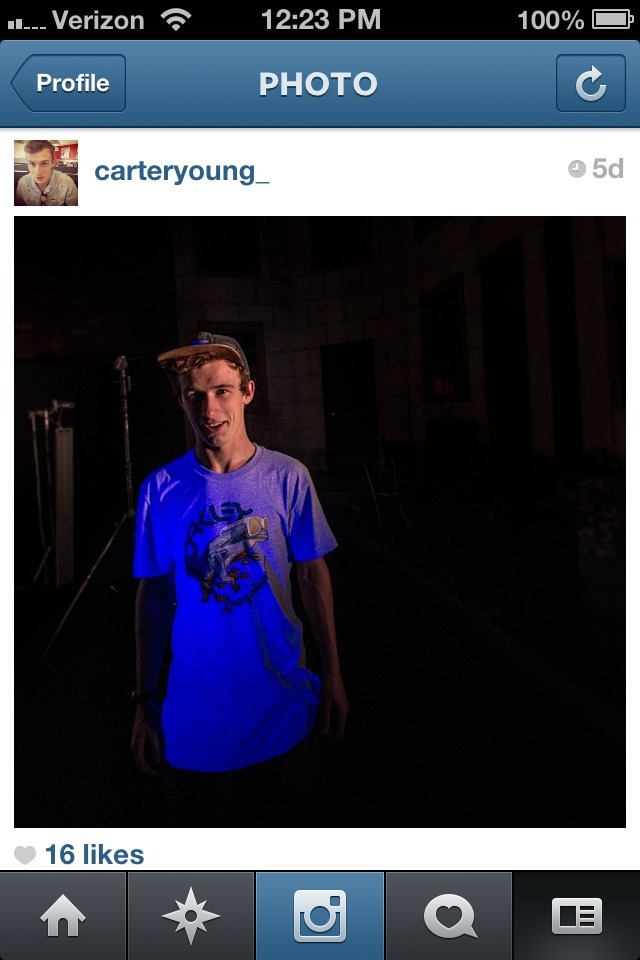 hey follow me on instagram <3 @carteryoung_