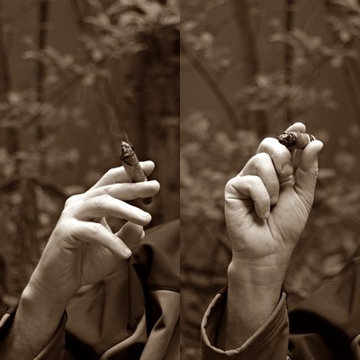 """Ways to Hold a Cigar"""