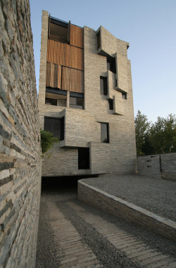 Apartment No.1 by AbCT Architects, Iran Winner of the 2013 Agha Khan Award