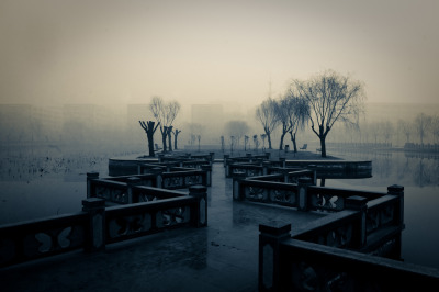 landscapelifescape:  Shangqiu Normal University, Shangqiu, Henan, China feng shui (by china.sixty4)