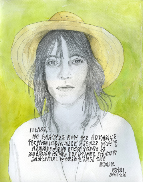 Patti Smith, reconstructionist. Pair with Carl Sagan on books.