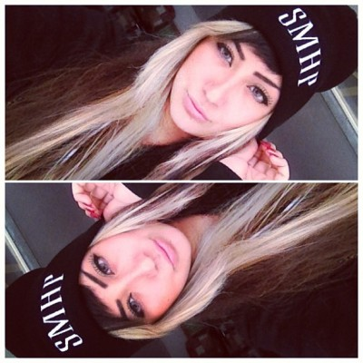 allisongreen:  New #SMHP beanie thanks to @tracecyrussmhp 👍 #beanie #allisongreen #millionaires  Perfect