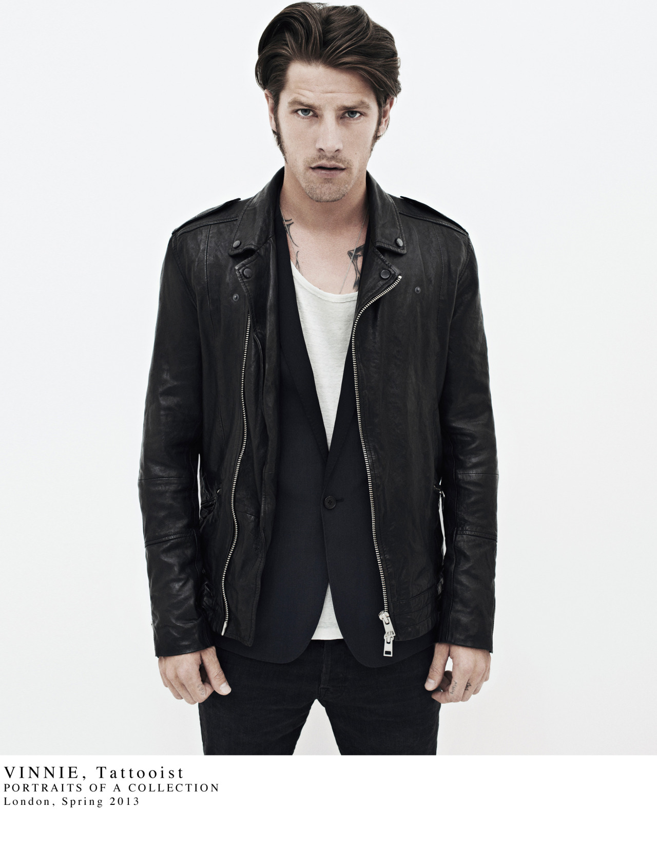 allsaints:  VINNIE: SPRING 2013 PORTRAITS OF A COLLECTION