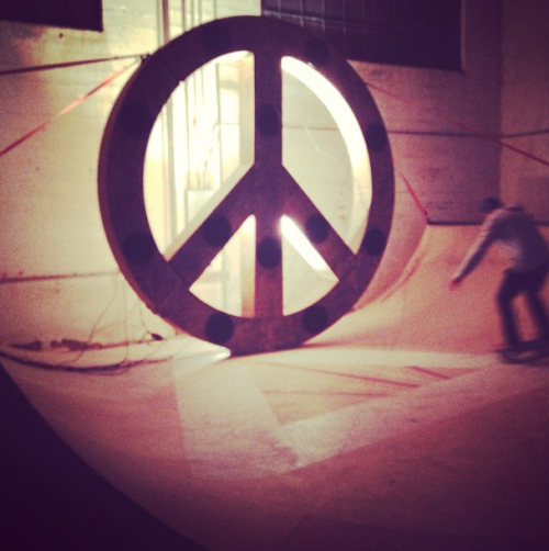 I probably need this. Definately.  via acehotel:  Behold the Peace Speaker.