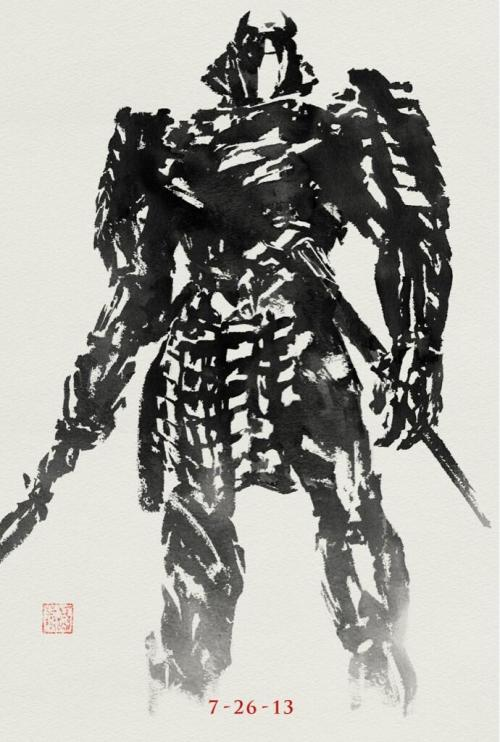 "Awesome New Poster For ""The Wolverine""  Over the weekend, director James Mangold released on Twitter this latest poster for The Wolverine, whilst teasing fans about potential future glimpses of the Silver Samurai before the film's release. I have to say, I really do love this style of poster, as I did with the first poster that the team released showing Wolverine. When I see posters like this, it makes me wonder who decides that ones like the crowded ninja attack poster look good… The Wolverine opens July 26. [MTV] —— Featured:  Top 5 TV Asian Girl Crushes Friend Us: Facebook and Twitter"