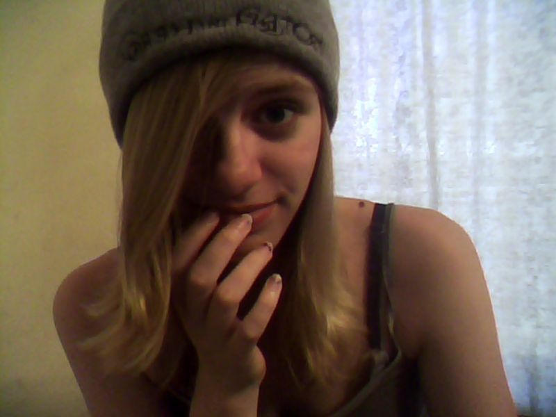 rockin' @teachmehowtoglovie's protest hat wooooo