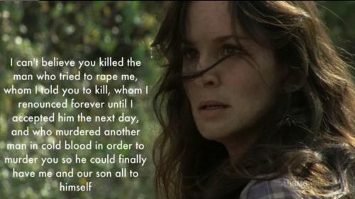 We should really lay off Andrea because Lori was soo much worse…And with the Walking Dead female character writing track record… Carol, Maggie or Michonne are about to get REALLY annoying…