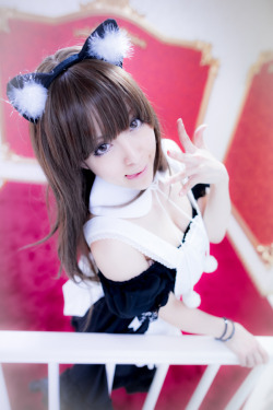 corette:  神崎りのあ (Rinoa Kanzaki)  Maid Catinfo : cure / archives / worldcosplay / blog