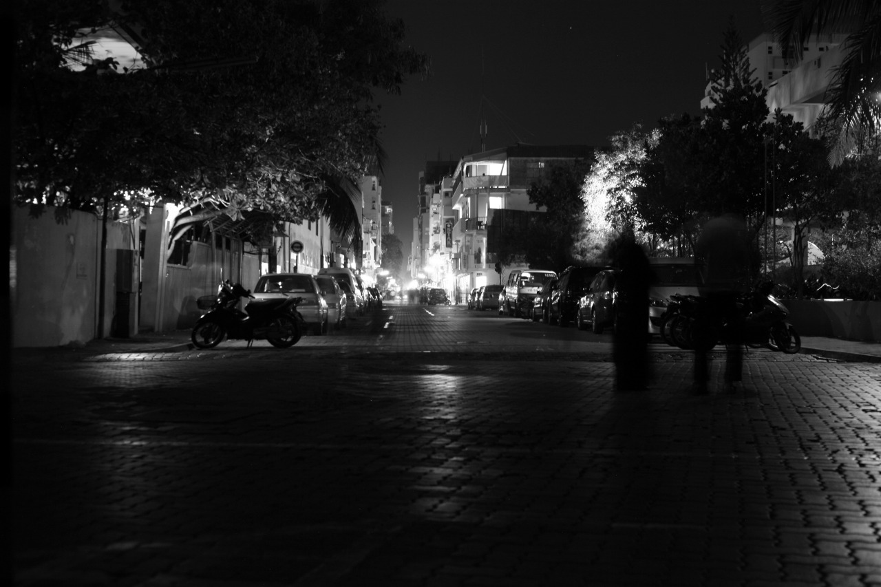 Sin City in the dark, Shots from Earth Hour 2013 , Male', Maldives