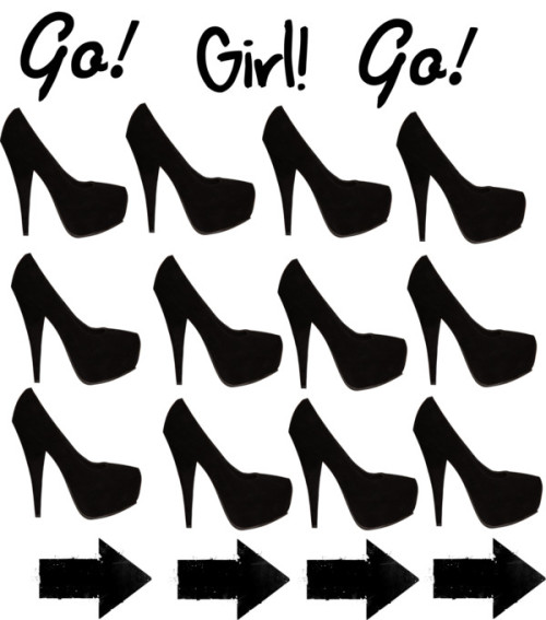 Go! Girl! Go! por perla1595 con platform shoes