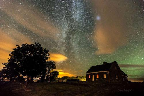 The Milky Way and the aurora borealis over Galway, Irelandby Conor Ledwith