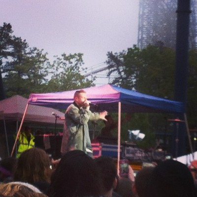 Macklemore and Ryan Lewis 🎤🎶 #macklemore #skateandsurf  (at Skate And Surf Festival)