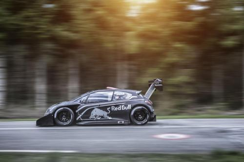 automotivated:  Sebastien Loeb's Pikes peak assault weapon. Peugeot 208 T16