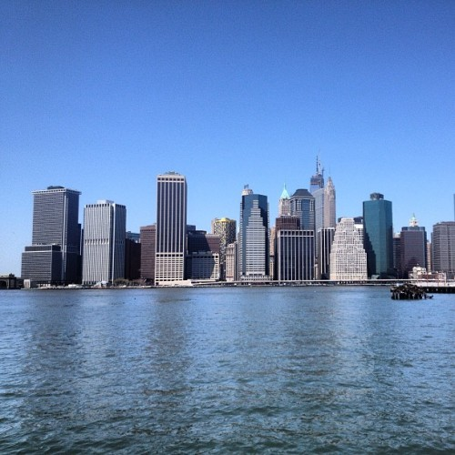 NYC Skyline from Brooklyn #24onthe28th (at Brooklyn Heights)