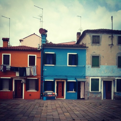 First time in #Burano #venice