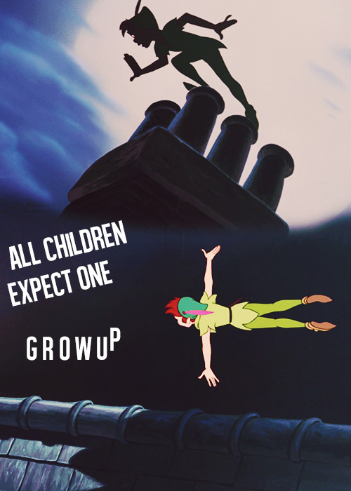 "30 days disney challenge 1st day — Peter Pan (favorite character) ""I'm youth, I'm joy,"" Peter answered at a venture, ""I'm a little bird that has broken out of the egg."""